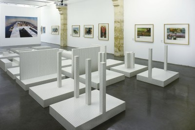 Visuel Exposition Superstudio au FracLR, 2016. Photo Pierre Schwartz