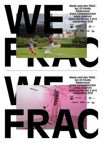 WEEK-END FRAC. Design graphique : Building Paris.