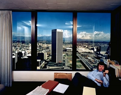 Bill Owens, L.A. Skyscraper View, 1980. Collection Frac Languedoc-Roussillon