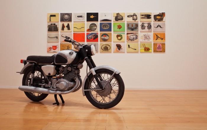 Conrad Bakker, Untitled Project: Honda CB77 Superhawk, 2014. Collection Frac Languedoc-Roussillon